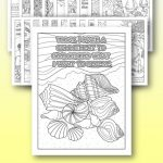 Printable Coloring Pages with Positive Quotes