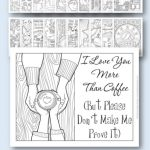 Coffee Coloring Pages - Pin me!