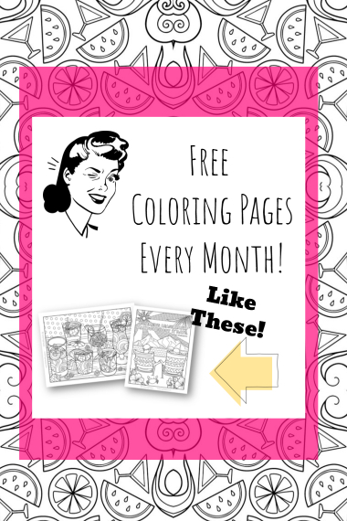 Free printable coloring pages for adults featured image