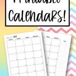 Free Printable 2021 Calendar Featured